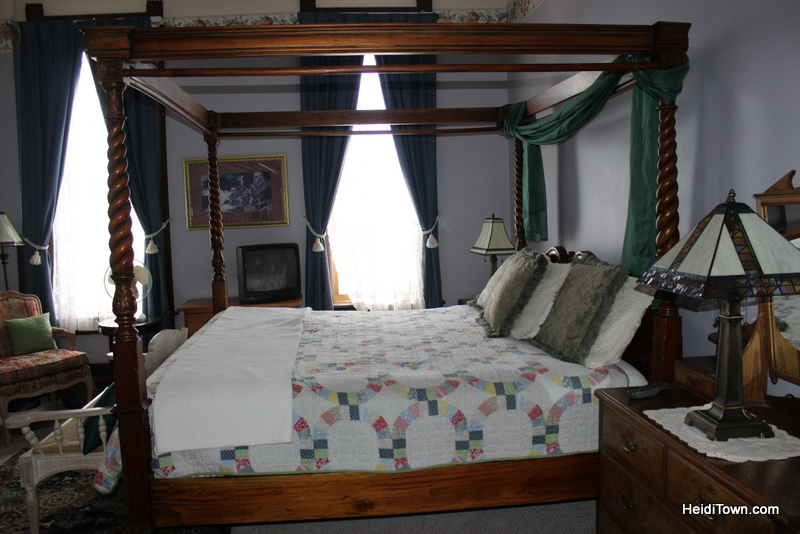 Our room at the Delaware Hotel in Leadville, Colorado. HeidiTown.com Heidi Kerr-Schlaefer