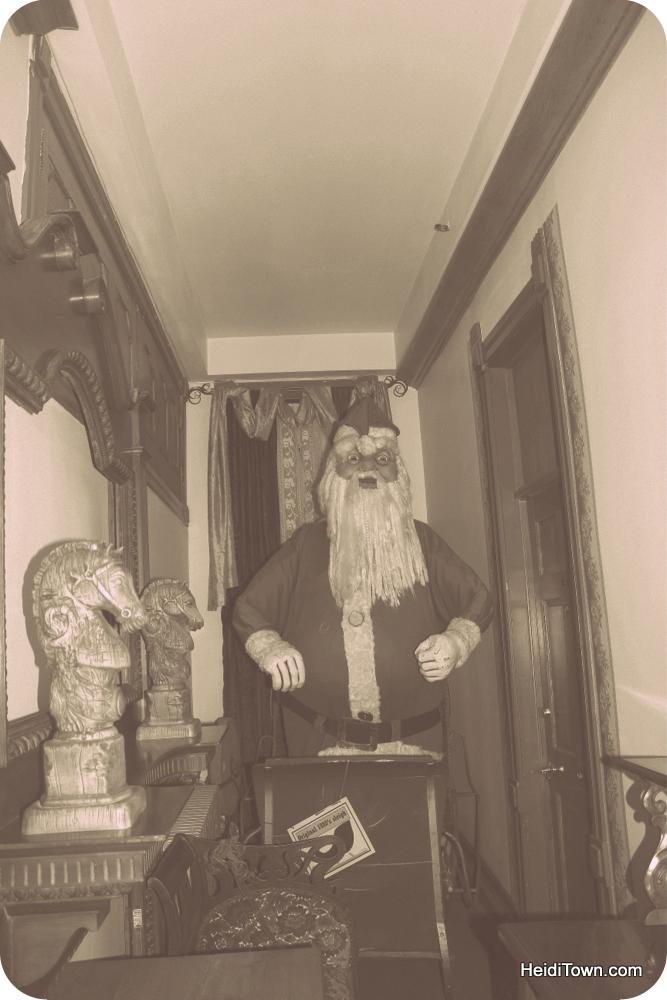 Vintage Santa At Delaware Hotel In Leadville Heiditown
