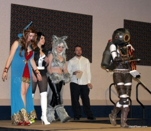Overall winner of the 2013 cosplay contest was BioShock at Rocky Mountain Con in Denver, Colorado.  HeidiTown.com