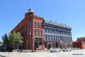 Buildings in downtown Leadville Colorado. HeidiTown.com Heidi Kerr-Schlaefer