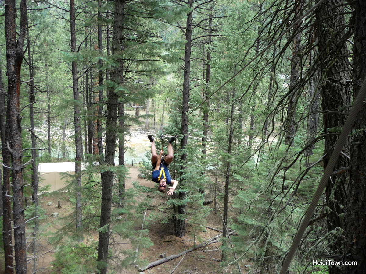 Ryan at Soaring Tree Tops - HeidiTown.com