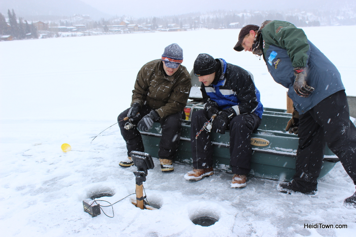 Ice fishing in grand lake colorado heiditown for Ice fishing locators