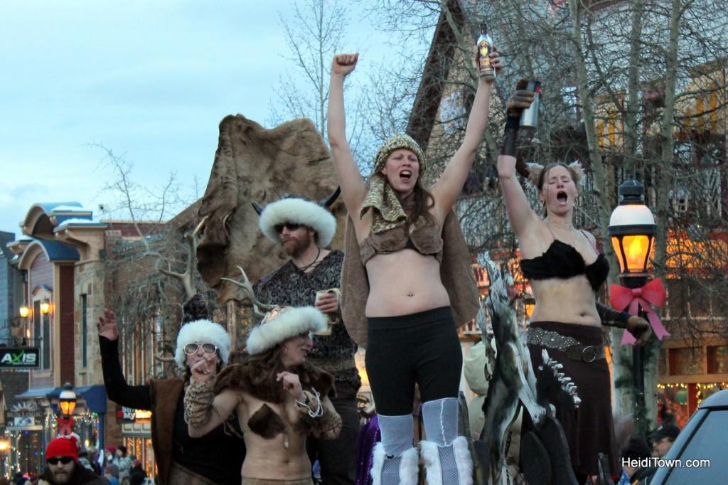 Viking gals at Ullr parade 2013 HeidiTown (2)