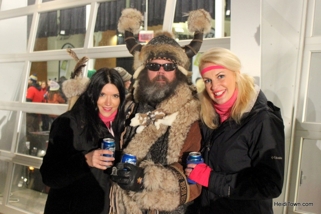 a couple of the lovely ladies from New England at Ullr Festival 2013. HeidiTown.com