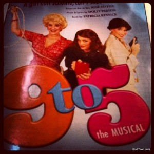 9 to 5 at Candlelight Dinner Playhouse in Johnstown, Colorado. HeidiTown.com