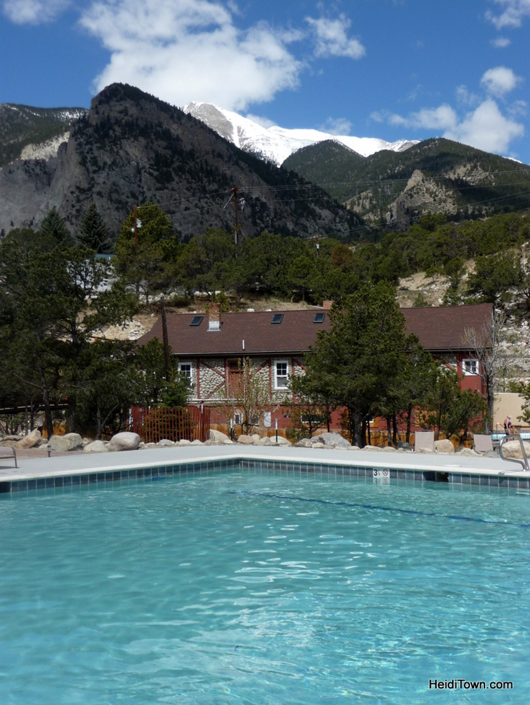 Mt. Princeton Hot Springs Resort VIP Pool. HeidiTown.com