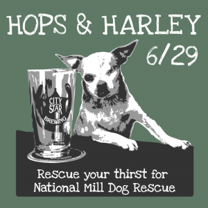 Hops & Harley 2014 logo