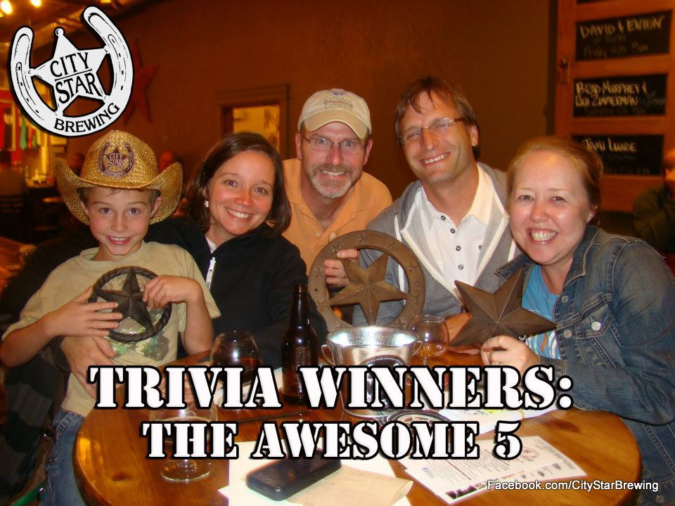 Trivia at City Star Brewing - HeidiTown.com