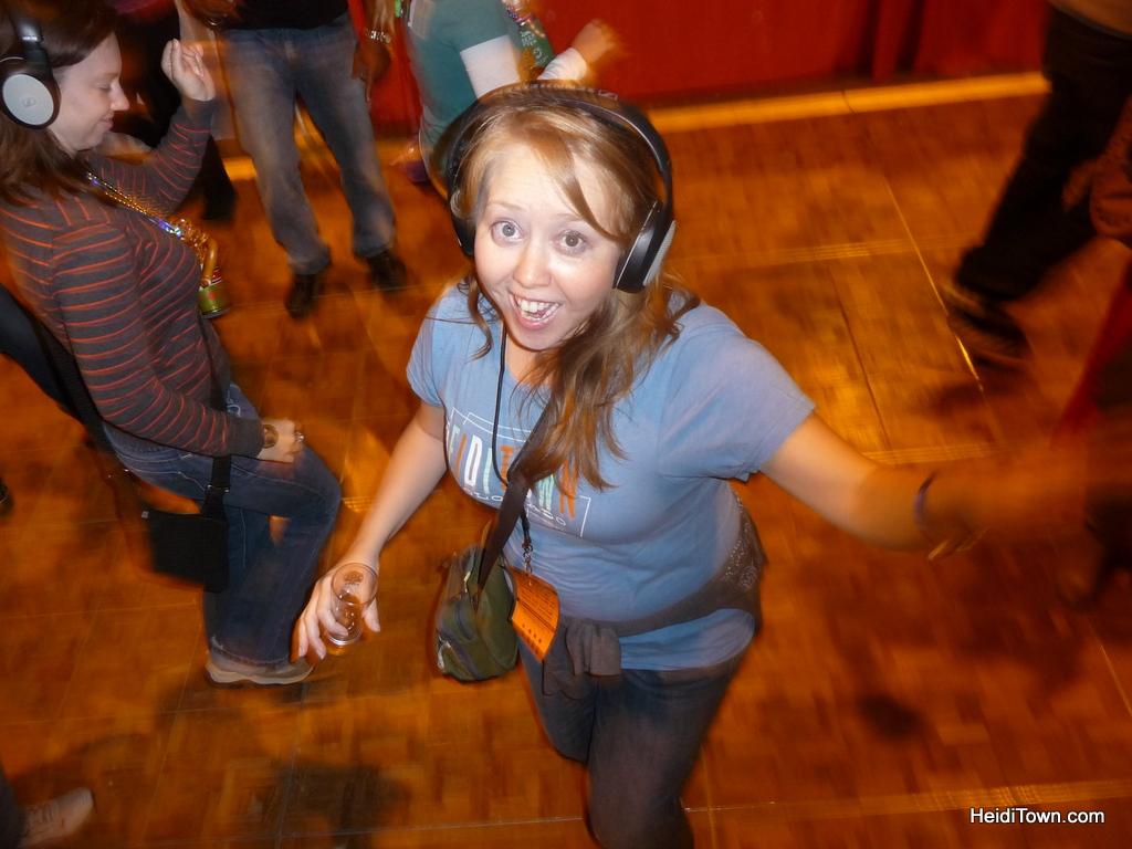 Great American Beer Festival 2012. The silence dance floor. HeidiTown.com