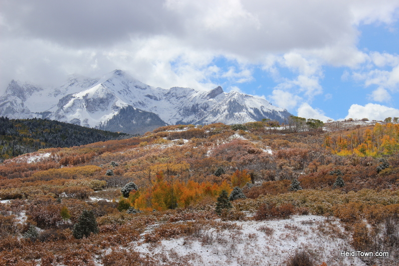 Fall travel in Colorado - Ouray & Telluride