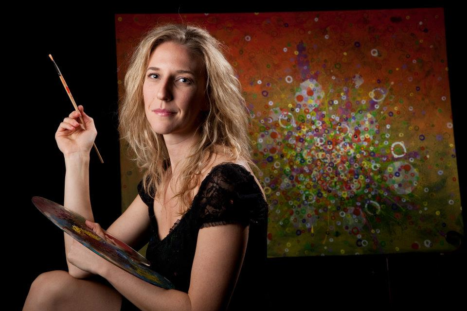 Anglea Canada Hopkins, artist.  Photo by Erik Stenbakken, 2009. Courtesy of LAST on Facebook.