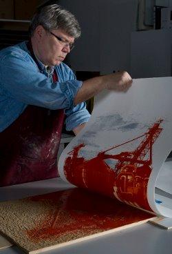 Dean Russel Thompson artist Loveland Art Studio Tour
