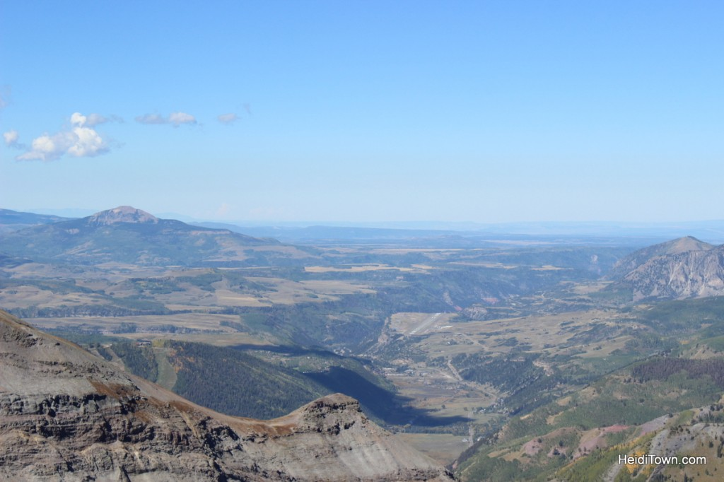 The view from Imogene Pass. Alpine Scenic Tours, Ouray, Colorado. HeidiTown.com