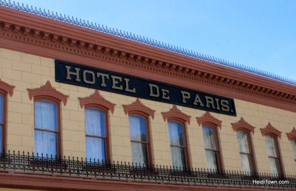 Hotel de Paris, Georgetown, Colorado. HeidiTown.com