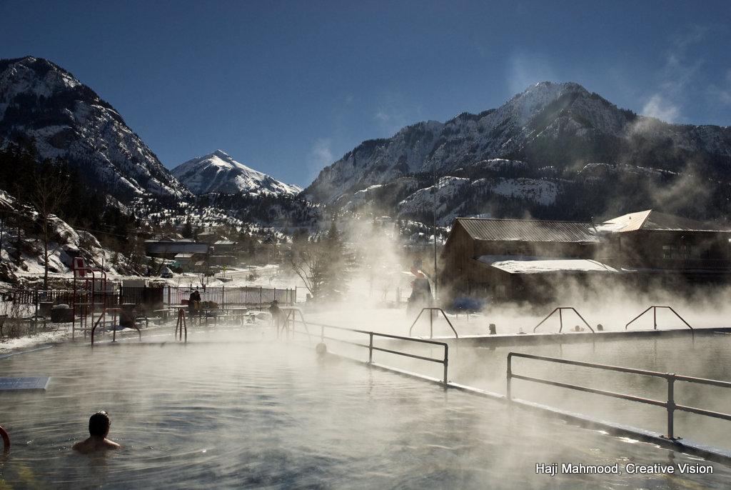 Ouray Hot Springs Pool, photo by Haji Mahmood