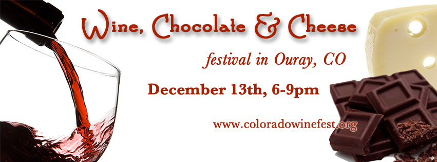 Featured Festival: Wine, Chocolate & Cheese Festival in Ouray