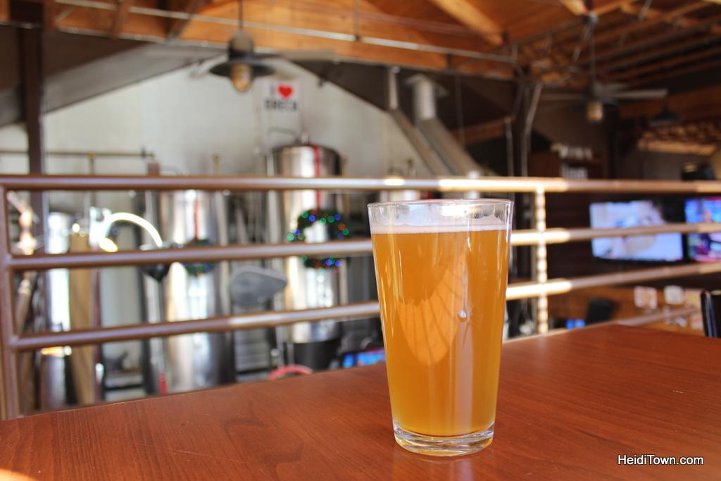 Beer at Breckenridge Brewery. HeidiTown.com