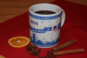 Christkindl Market mulled spiced wine