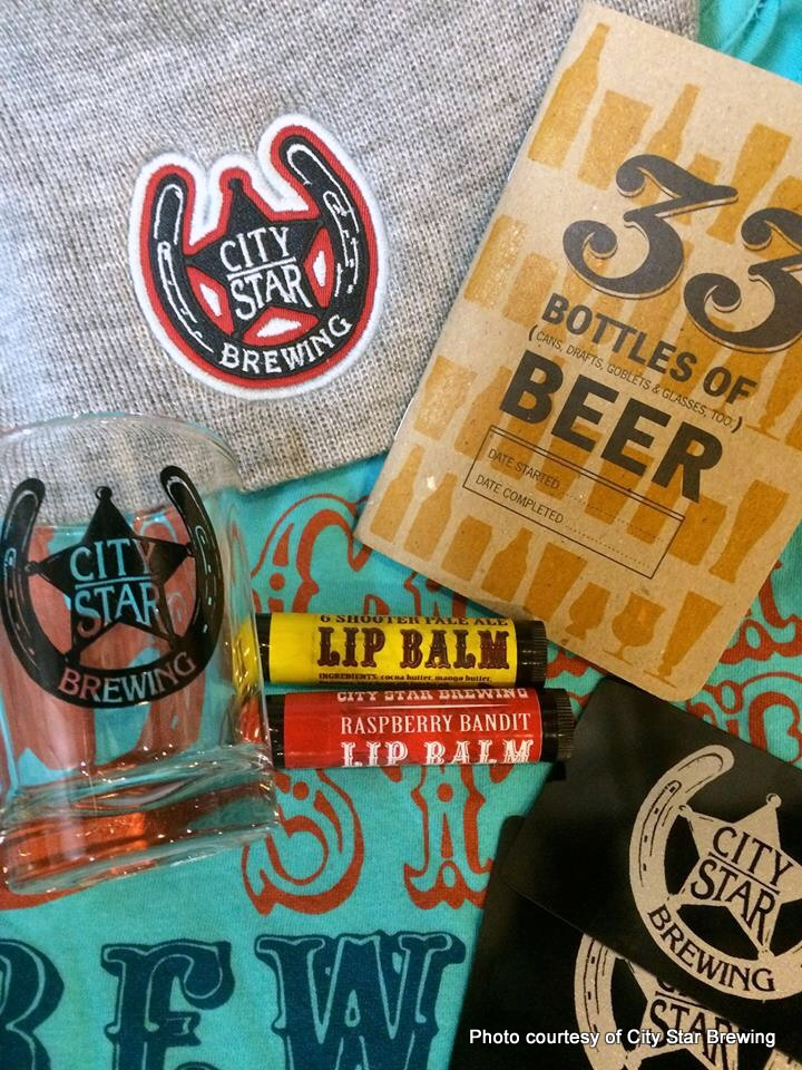 City Star Brewing swag