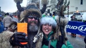 Heidi & John Forsberg, aka Ullr. Photo by Ryan Schlaefer at Ullr Fest 2014