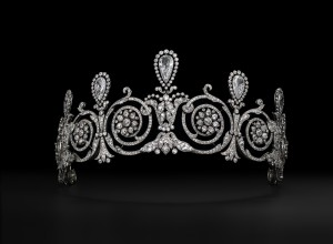 Title: Tiara worn by Mrs. Townsend. Cartier Paris, special order, 1905.
