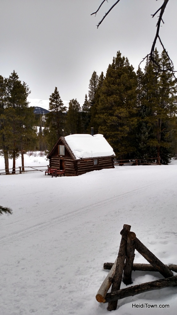 Josie's Cabin at Breckenridge Nordic Center. HeidiTown.com