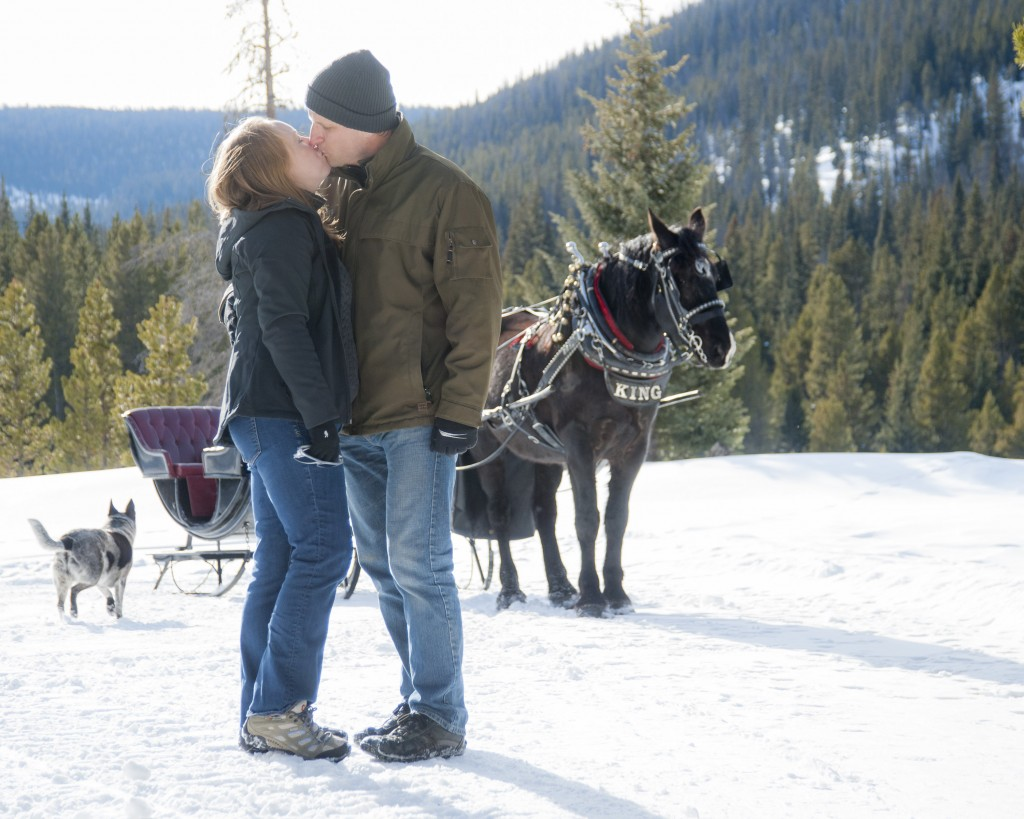 Top 10 places to steal a kiss on Valentine's Day in Colorado. Dramatic Focal Point Photography