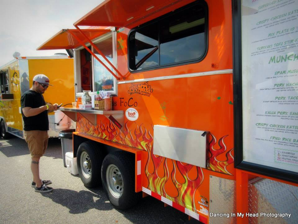 Pineapple Express Food Truck at Front Range Rally. Photo by Dancing in my head photography. HeidiTown.com