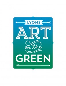 Art on the Green logo