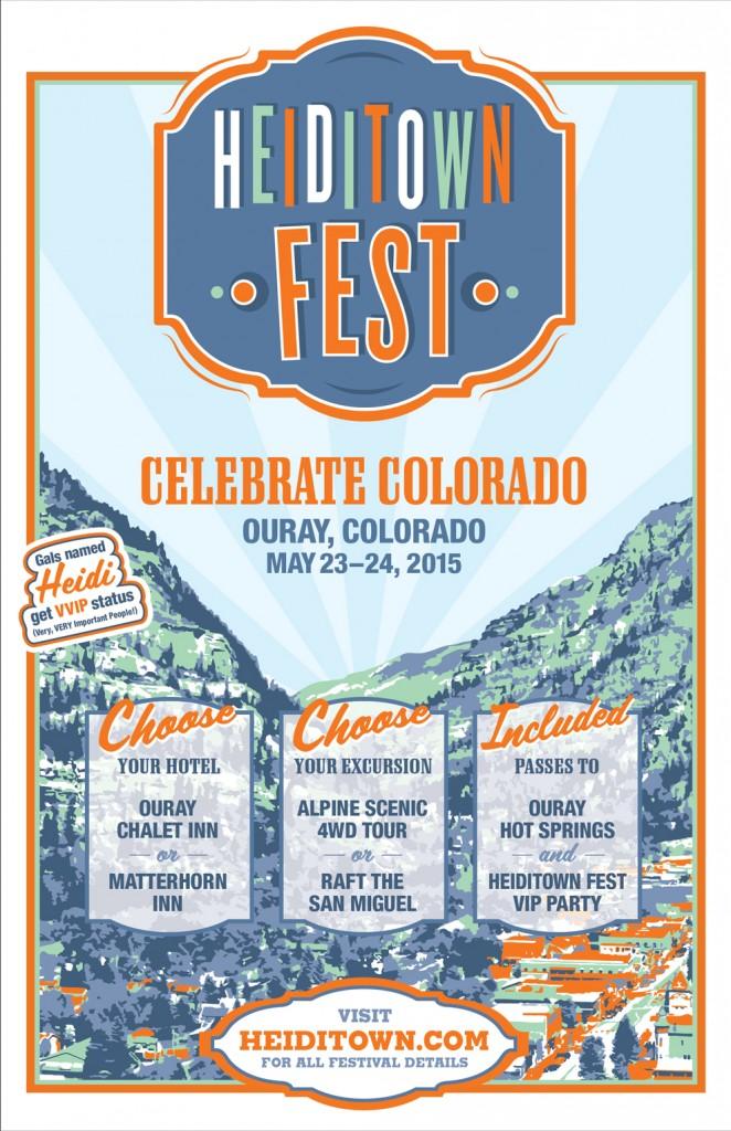 HeidiTown Fest Poster 2015