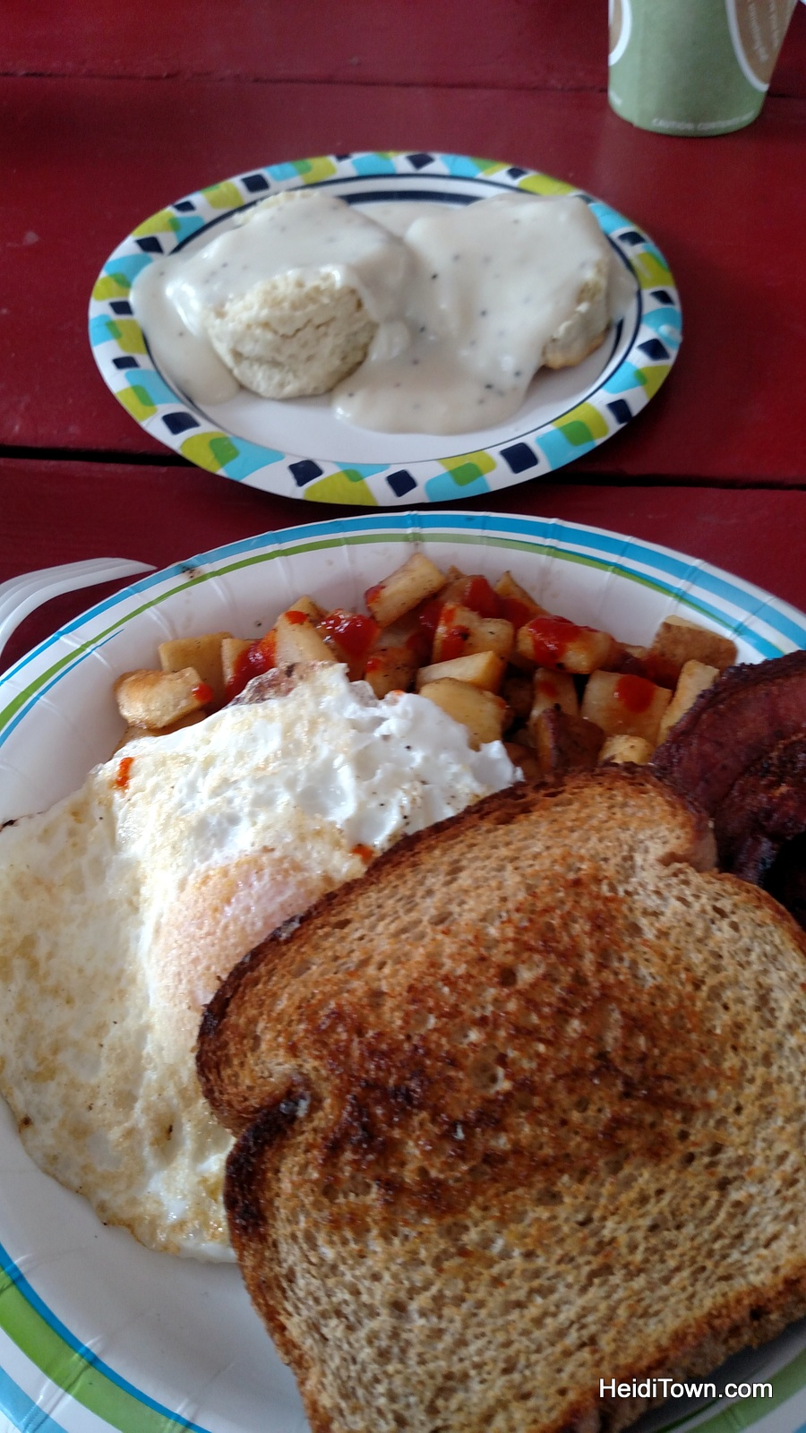breakfast at the Bachelor-Syracuse Mine in Ouray, Colorado. HeidiTown.com
