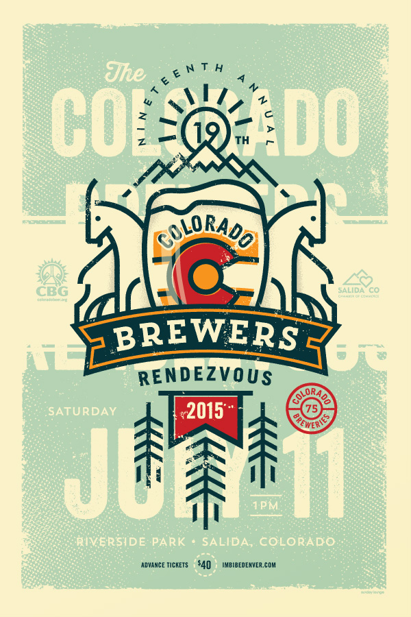 Colorado Brewers Rendezvous 2015 poster
