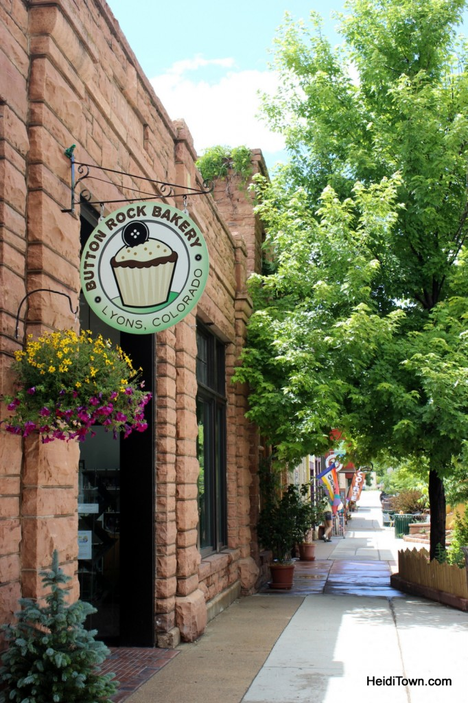 Downtown Lyons Colorado 2 - by Heidi Kerr-Schlaefer