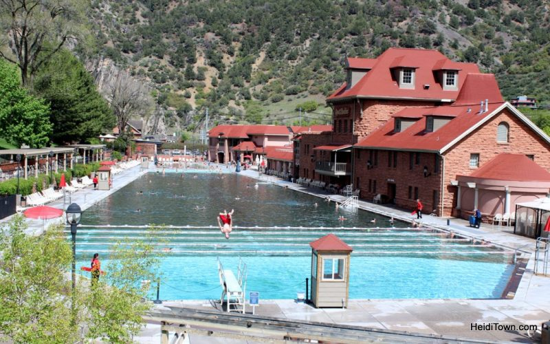 Glenwood Springs Hot Springs Pool in May 2015. HeidiTown.com