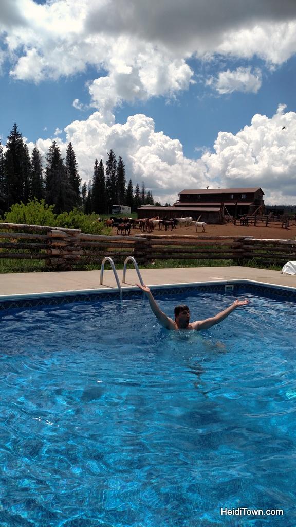 Latigo Ranch swimming pool. Six reason to love Latigo Ranch. HeidiTown.com
