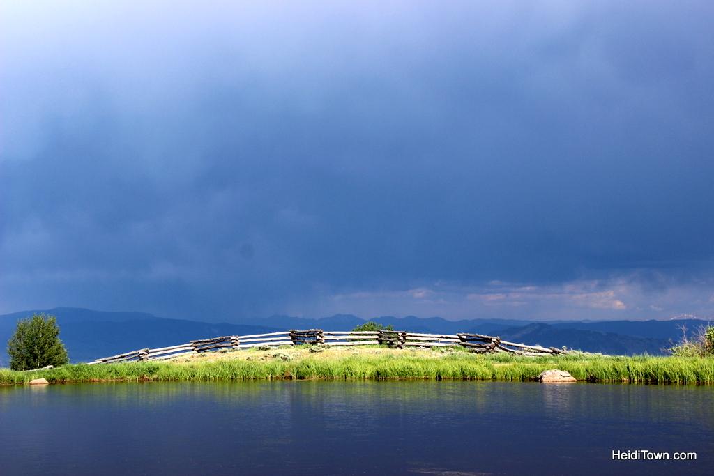 The storm passes. At Latigo Ranch. HeidiTown.com