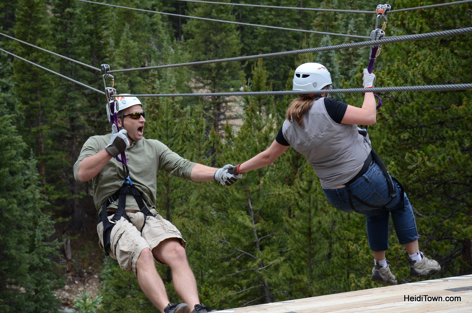 Top of the Rockies Ziplines. Photos by Lauren Lunder, Photography with Altitude. HeidiTown.com (9)