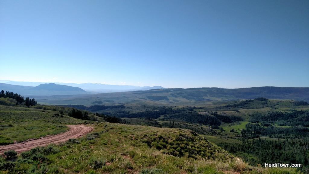 Our breakfast ride view at Latigo Ranch in Kremmling, Colorado. HeidiTown.com
