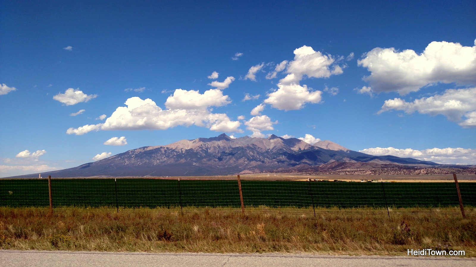 Taking the long way home, #TravelTuesday. Blanca Peak, Colorado. HeidiTown.com