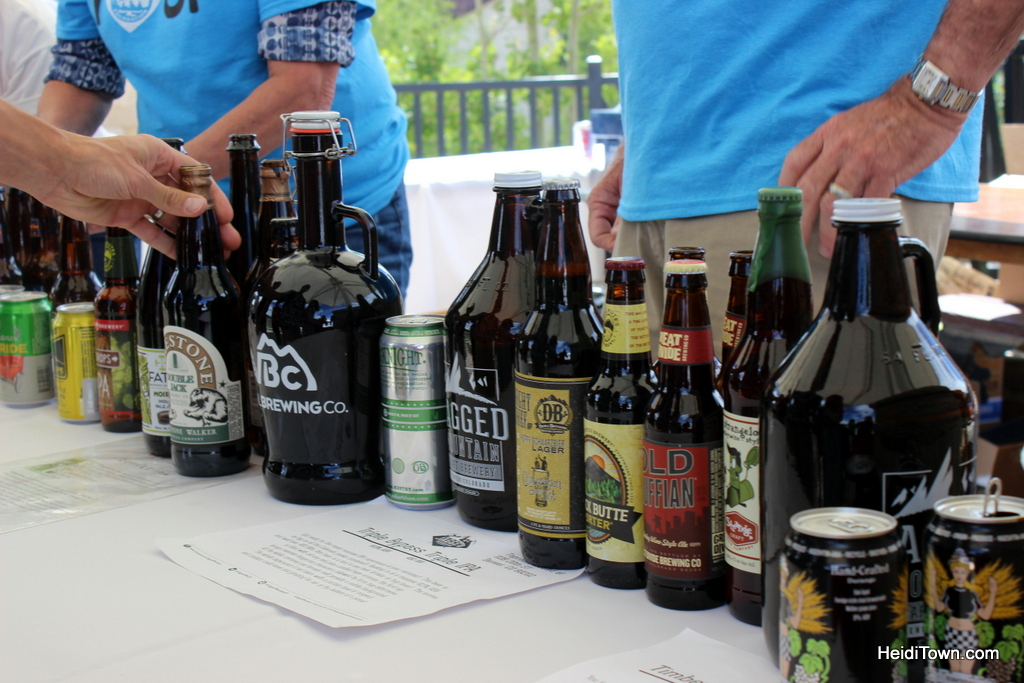 exclusive VIP only beers at Winter Park Beer Festival. HeidiTown.com
