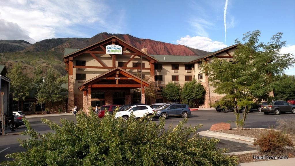 Iron Mountain Hot Springs. Hotel Glenwood Springs. HeidiTown.com