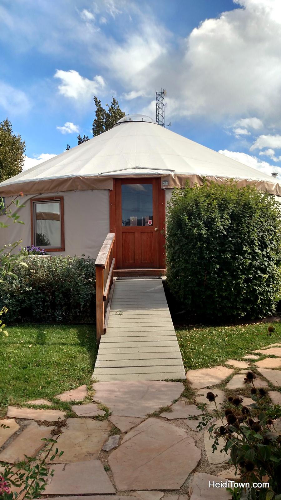 Colorado Yurt Company in Montrose, Colorado. HeidiTown.com