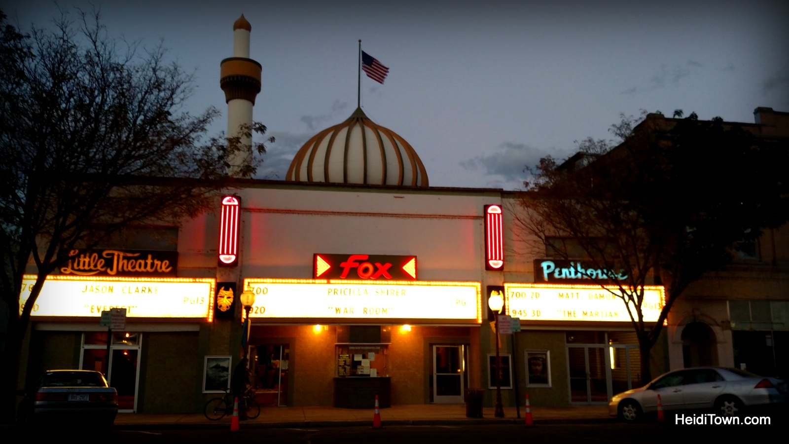 Fox Theater in Montrose, Colorado. HeidiTown.com