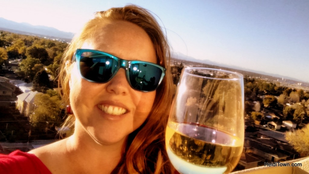 cheers from the Holiday Inn Denver Stapleton, 11th floor. HeidiTown.com