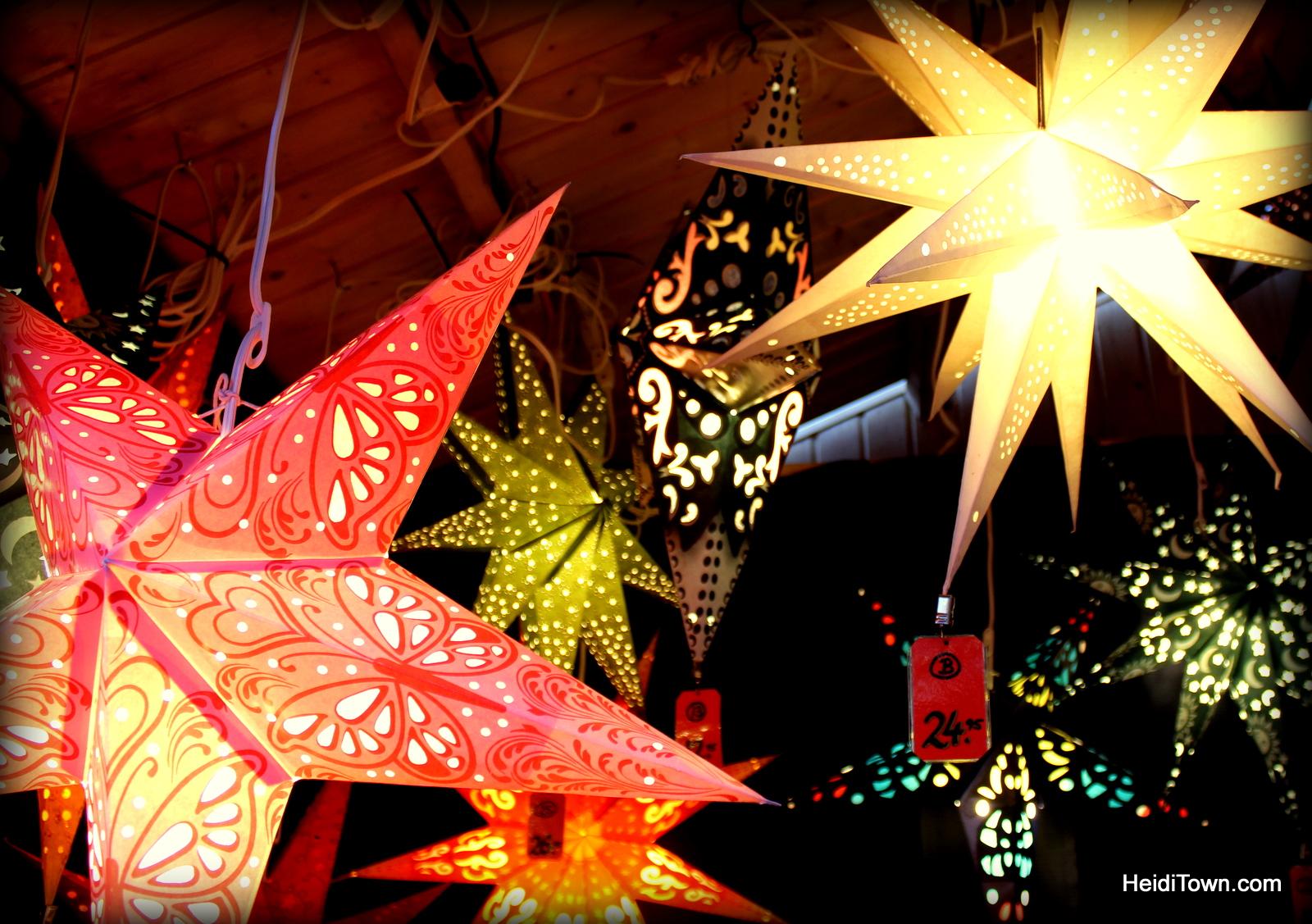 stars at Denver Christkindl Market 2014. HeidiTown.com