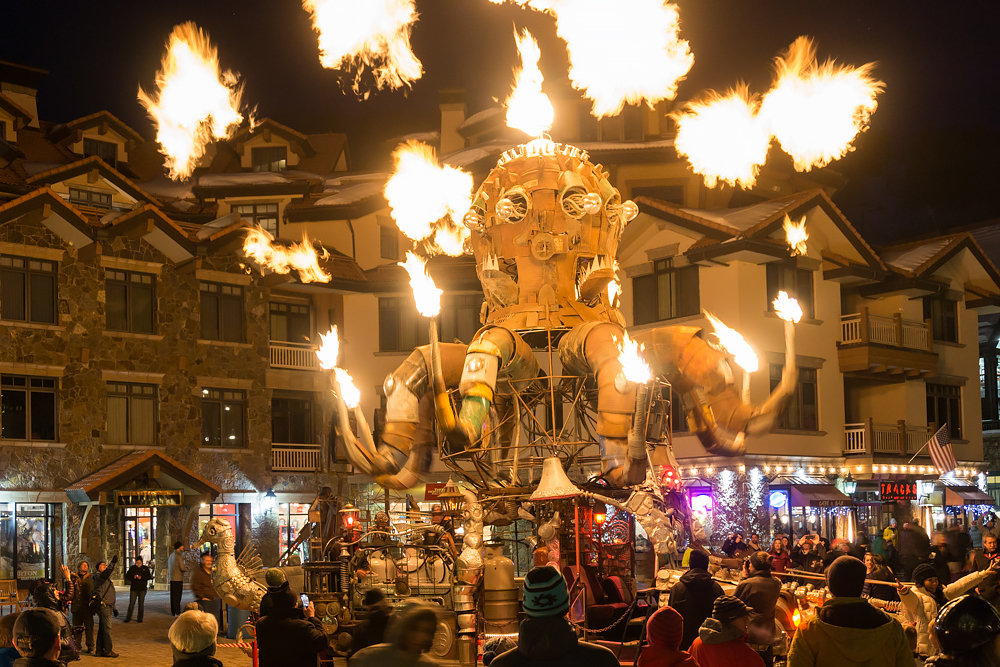 Featured Festival Telluride Fire Festival 2016 El Pulpo Mecanico