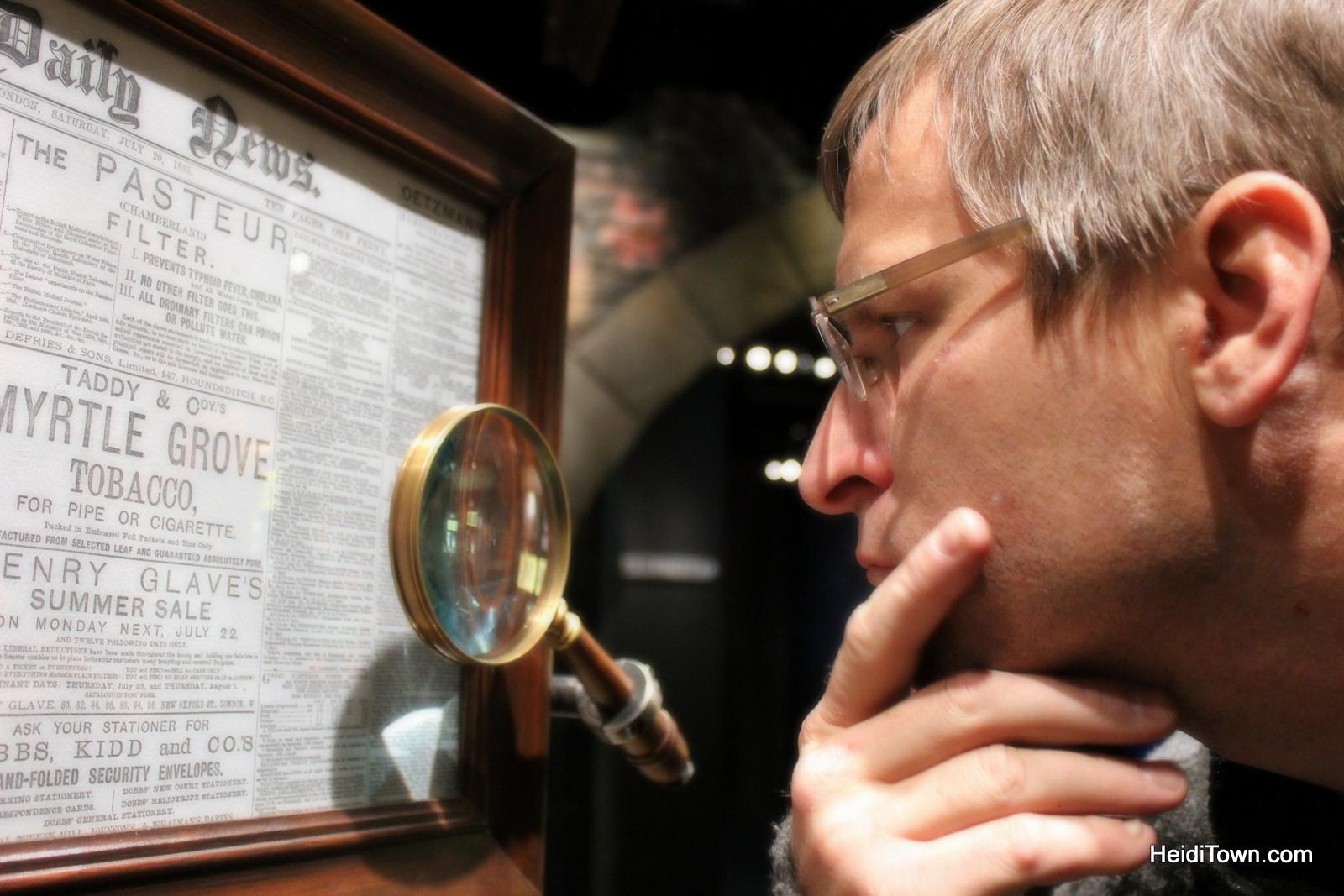 Sherlock Holmes in Denver, Colorado. HeidiTown (2)