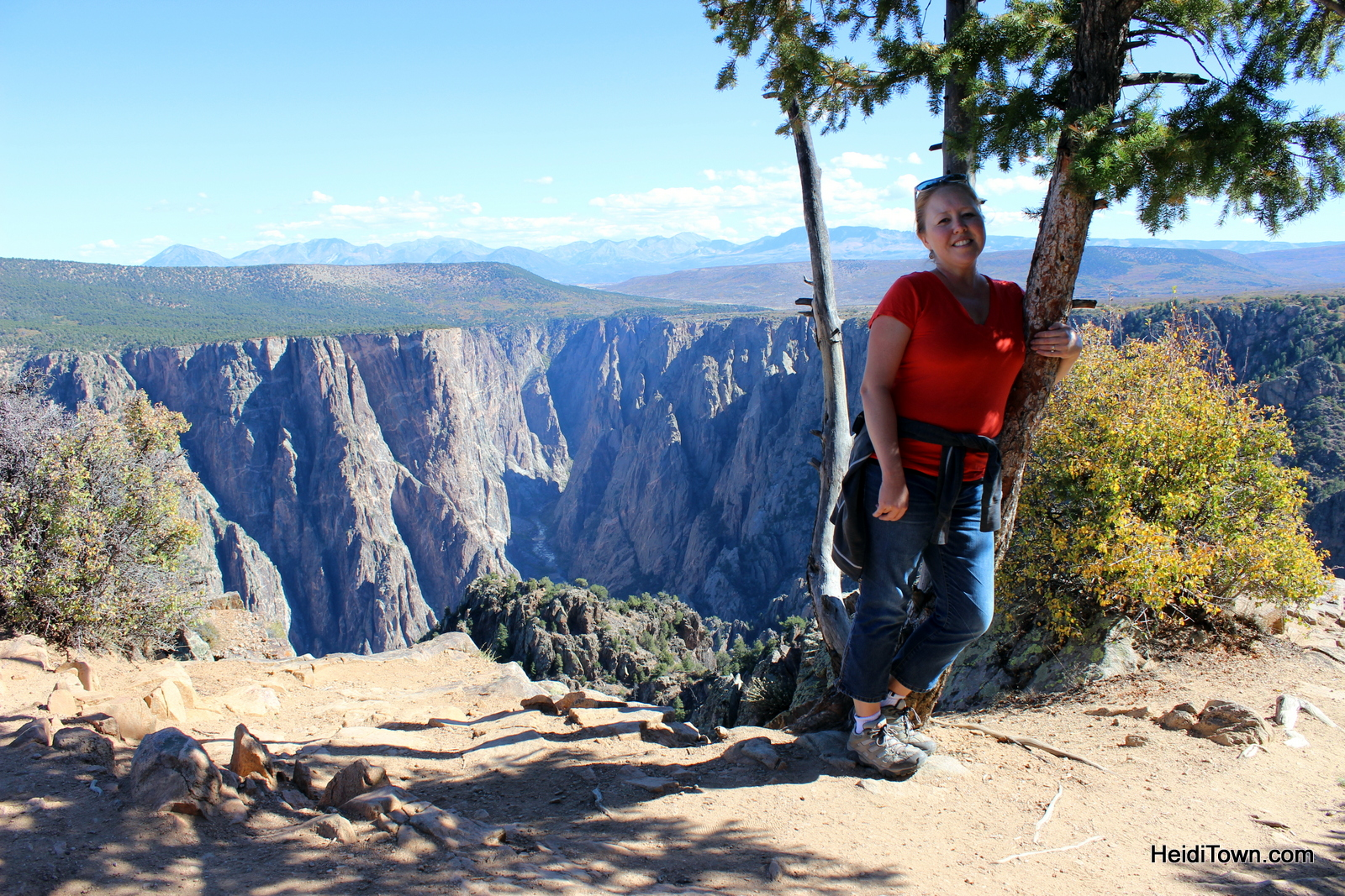 Top 10 HeidiTown Highlights of 2015. Hiking at the Black Canyon of the Gunnison.