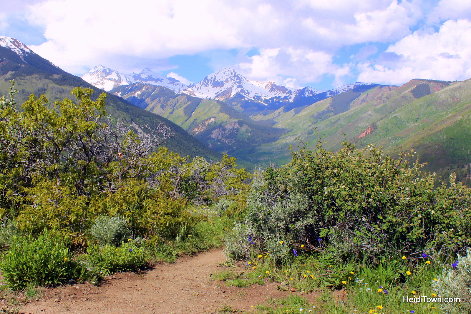Top 10 HeidiTown Highlights of 2015. The Rim Trail Loop in Snowmass, Colorado.