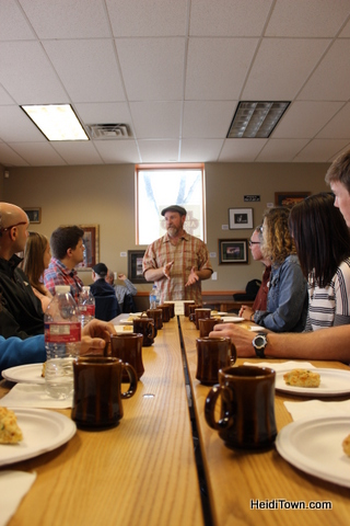 Tom Helm talks about his coffee on the 2015 My Big Date Brunch & Brew. (2)